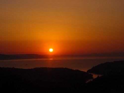 Sunset from Kuce Alibobo